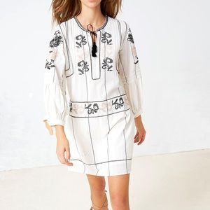 Ulla Johnson Dalia Embroidered Dress